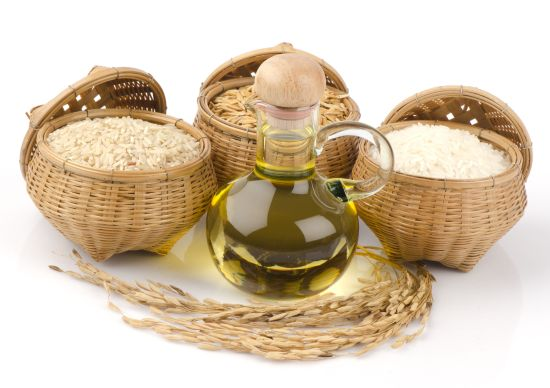 Rice Bran Oil for Skin, Hair and Health